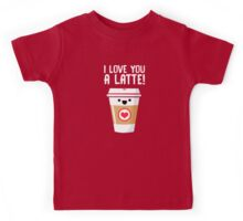 Latte Love Kids Tee