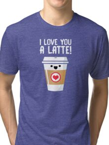 Latte Love Tri-blend T-Shirt