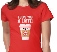 Latte Love Womens Fitted T-Shirt