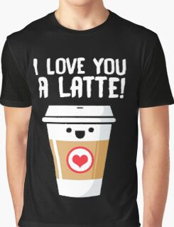 Latte Love Graphic T-Shirt