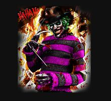 the joker- freddy krueger mash up  Unisex T-Shirt