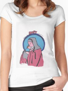Have A Mary Christmas! Women's Fitted Scoop T-Shirt