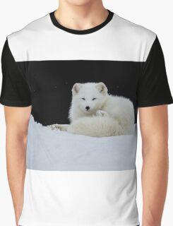 Arctic Fox Graphic T-Shirt