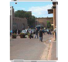 Santa Fe Street Scene iPad Case/Skin