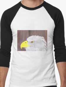 Bald Eagle  Men's Baseball ¾ T-Shirt