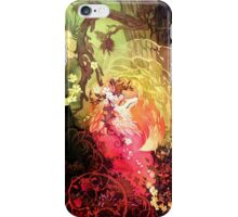 Dawnsing Wood Fox in Watercolor iPhone Case/Skin