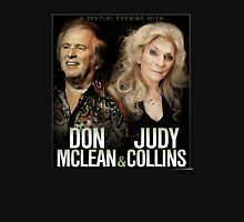 Don Mclean & Judy Collins Tour 2016 Unisex T-Shirt