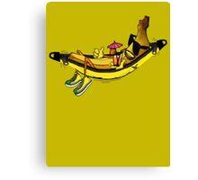 banana hammock Canvas Print
