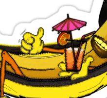 banana hammock Sticker