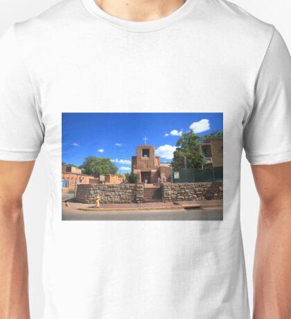 Santa Fe - San Miguel Chapel Unisex T-Shirt