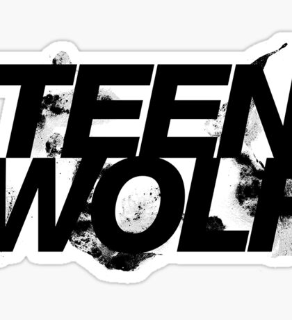 Teen wolf Sticker