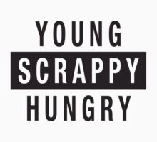Young Scrappy Hungry - Hamilton Musical by SaraduJour