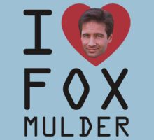 I Heart Fox Mulder Kids Clothes