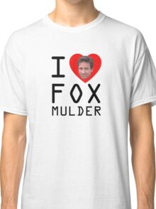 I Heart Fox Mulder Classic T-Shirt