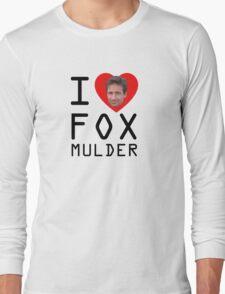 I Heart Fox Mulder T-Shirt