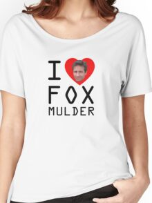 I Heart Fox Mulder Women's Relaxed Fit T-Shirt