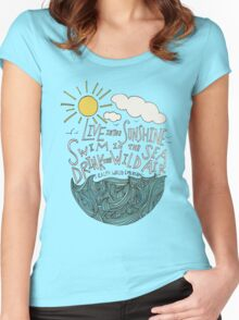 Emerson: Live in the Sunshine Women's Fitted Scoop T-Shirt