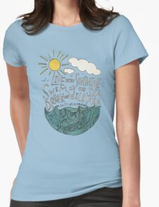 Emerson: Live in the Sunshine Womens Fitted T-Shirt