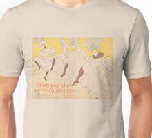 Vintage poster - Troupe de Mlle Eglantine Unisex T-Shirt
