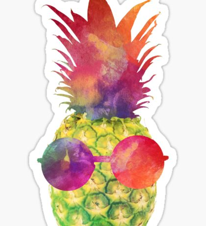 Green Pineapple Sticker