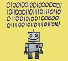 Binary Valentine Kids Tee
