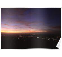 Melbourne Sunset 08/01/16 - 2 Poster