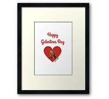 Galentines Day with Leslie: Parks & Recreation Framed Print