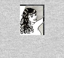 Curly Bettie Womens Fitted T-Shirt