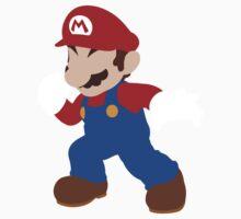 Smash Bros - Mario One Piece - Long Sleeve