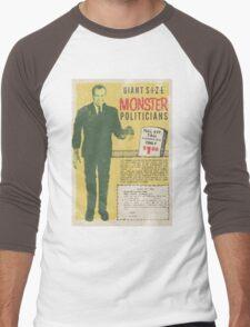 MONSTER PRESIDENTS Men's Baseball ¾ T-Shirt