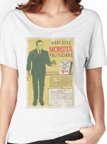 MONSTER PRESIDENTS Women's Relaxed Fit T-Shirt