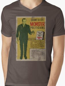 MONSTER PRESIDENTS Mens V-Neck T-Shirt