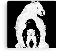 Arctic Friends Canvas Print