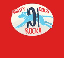 Agility dogs Rock Unisex T-Shirt