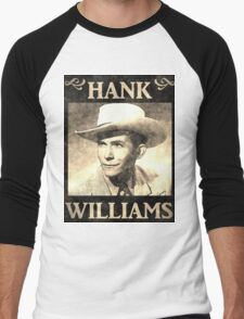 Hank Williams Vintage Digital Artwork T-Shirt