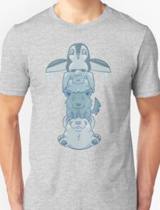 Cute Snow Totem Pole T-Shirt