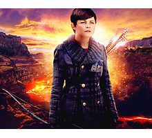 OUAT in the Underworld - Snow White Photographic Print