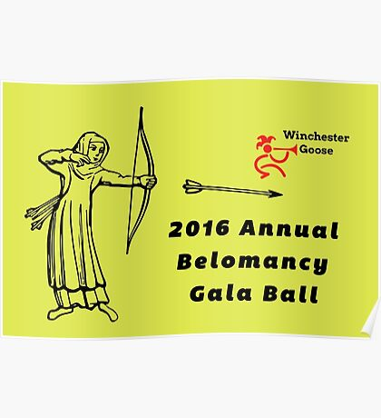 Annual Belomancy Ball Poster