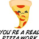 sour food puns - Pizza by bleachy