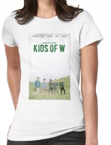 Adventure of WINNER 'KIDS OF W' Womens Fitted T-Shirt