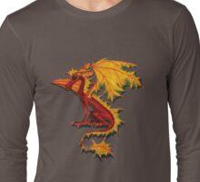 Maple Leaf Dragon Long Sleeve T-Shirt