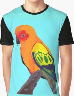 Sun Conure Portrait  Graphic T-Shirt