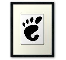 GnomeLinux Framed Print