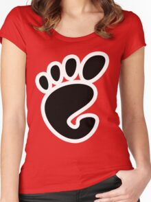 GnomeLinux Women's Fitted Scoop T-Shirt