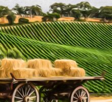 Hay Wagon (GO3) Sticker