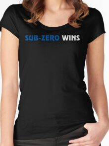 Sub-Zero Wins Women's Fitted Scoop T-Shirt