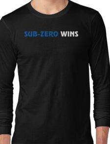 Sub-Zero Wins Long Sleeve T-Shirt
