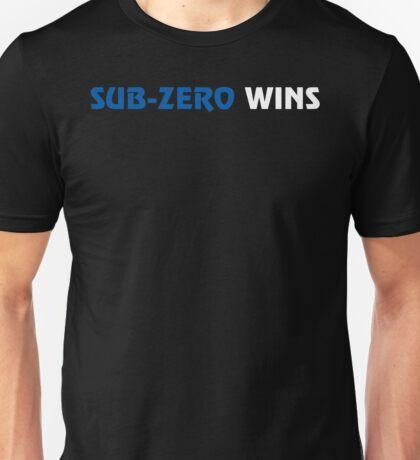 Sub-Zero Wins Unisex T-Shirt