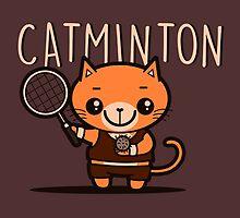 Catminton by BoggsNicolasArt