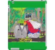 The Parrot Party at Paronella Park [Cover Page] iPad Case/Skin